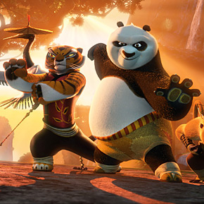 Angelina Jolie,Martial Arts,Kung Fu Panda,Jack Black,Dreamworks Animation