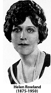 National Coffee Day, Helen Rowland,Poet, Journalist,White Woman