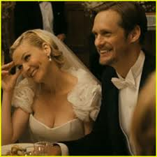 Alexander Skarsgard, Kirsten Dunst, Melancholia, Wedding Scenes,Movie Weddings