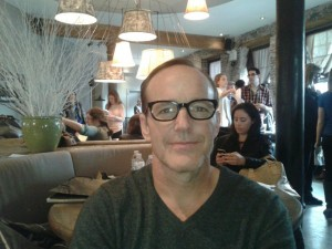 Clark Gregg at the Tribeca Film Festival (photo by Thelma Adams)