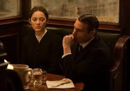 Mation Cotillard, Joaquin Phoenix come to America (courtesy of The Weinstein Company)
