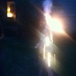Lizzie girl on fire