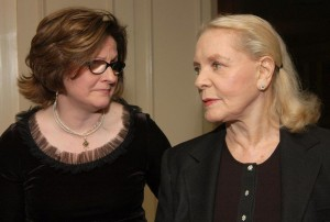Me and Lauren Bacall, NYFCC 2005