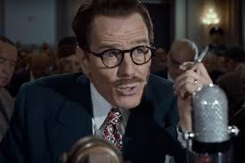 Period Piece: Cranston as blacklisted screenwriter Dalton Trumbo